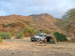 Camp near Lake Manyara