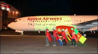Kenya Airways takes delivery of first Boing 737-800