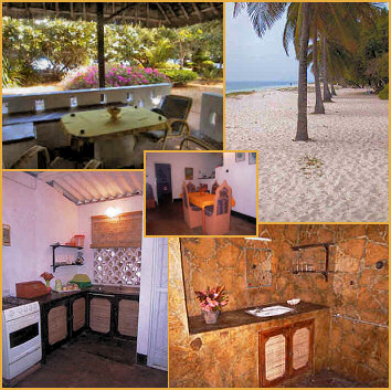 The Coral Cove Cottages at Tiwi Beach, South Coast