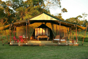 The Honeymoon Tent of Elephant Pepper Camp