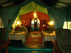 Your tent at the Ilkeliani Luxury Tented Camp