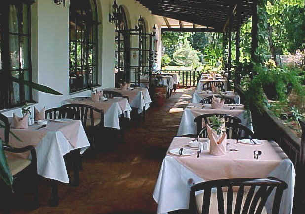 The Veranda of the Karen Blixen Coffee Garden