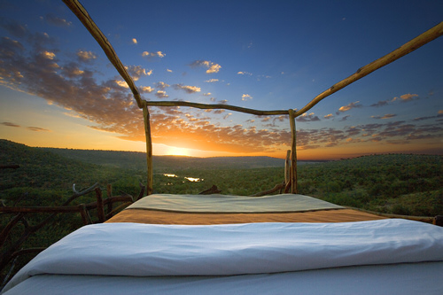 Star-Bed of Loisaba Lodge