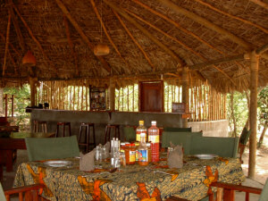 The Dining Area of the Selous Mbega Camp