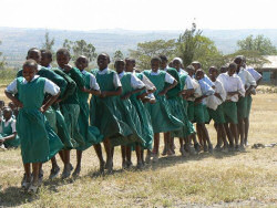 Students of the Nakuru school